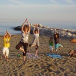 Yoga met de kids in Italie